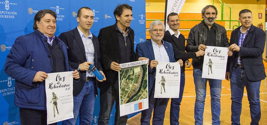 """Presentación do """"Cros de Ribadavia – Campionato de Galicia de Campo a Través"""""""