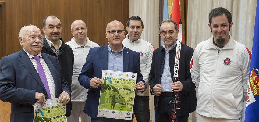180 arqueiros de toda Galicia compiten en Taboadela no campionato galego de tiro con arco